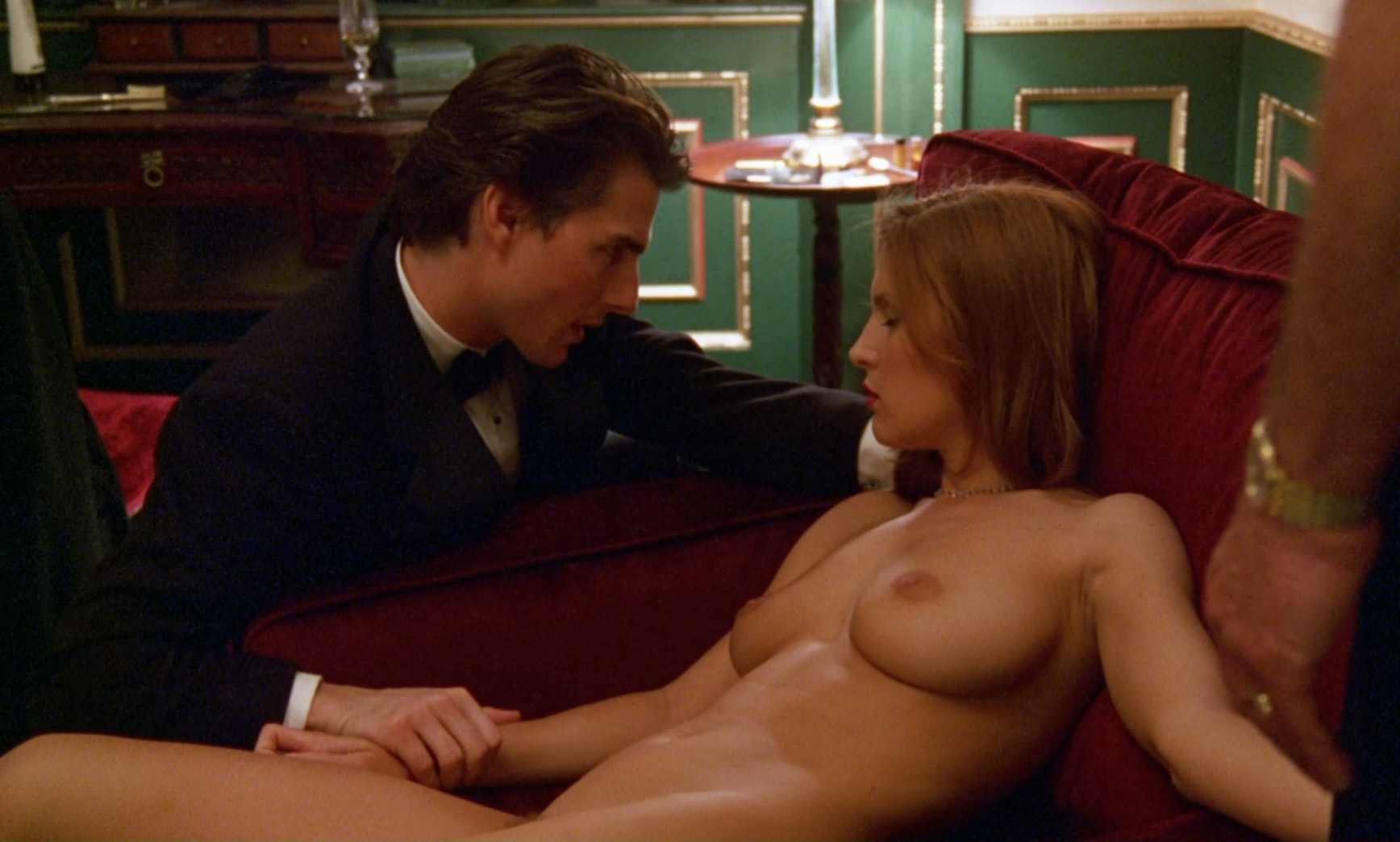 Lesbian lingerie bondage