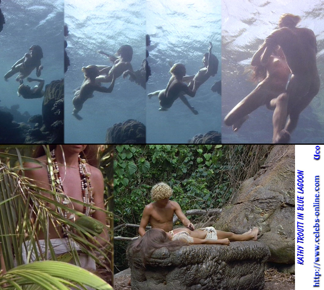Blue lagoon movie naked scene that