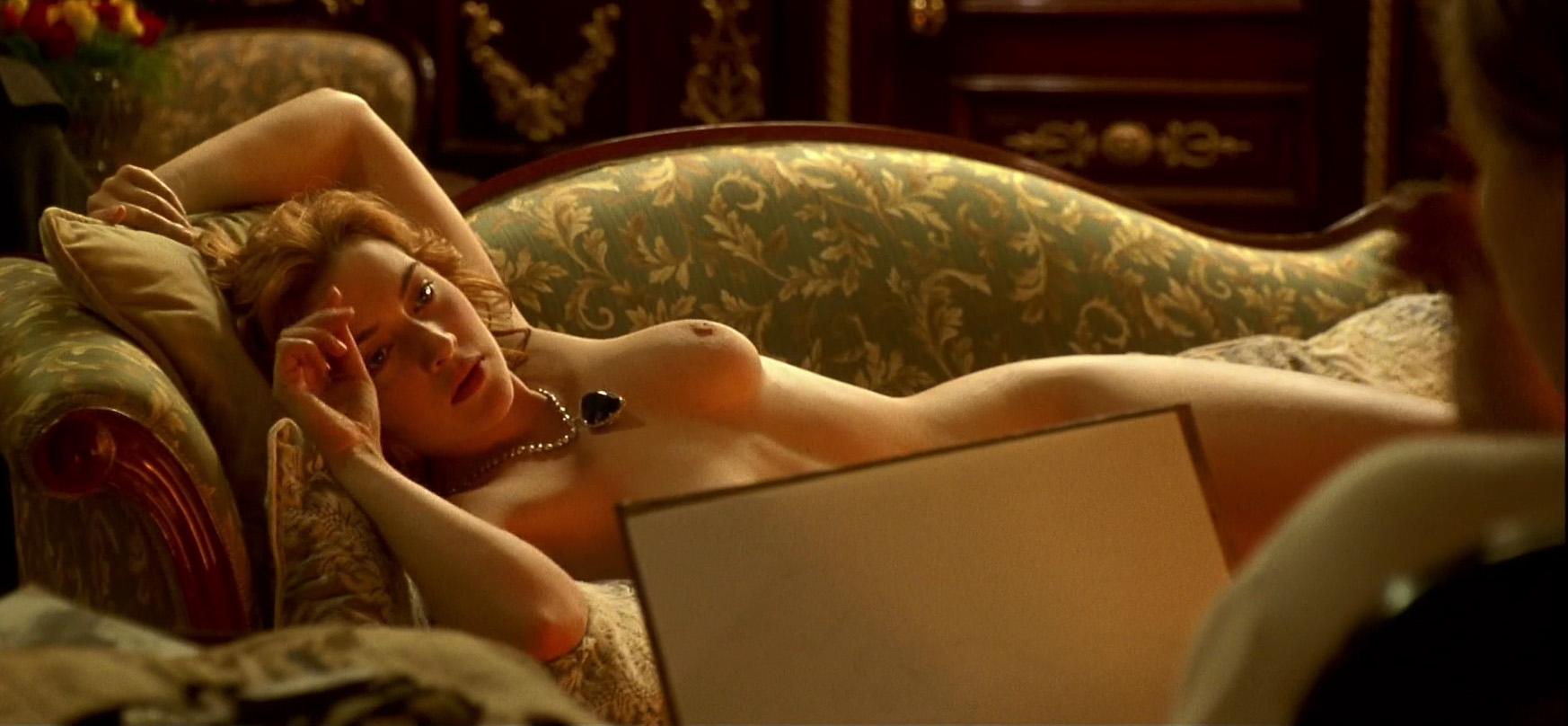 Titanic Rose Sketch Nude Drawing Hope Diamond