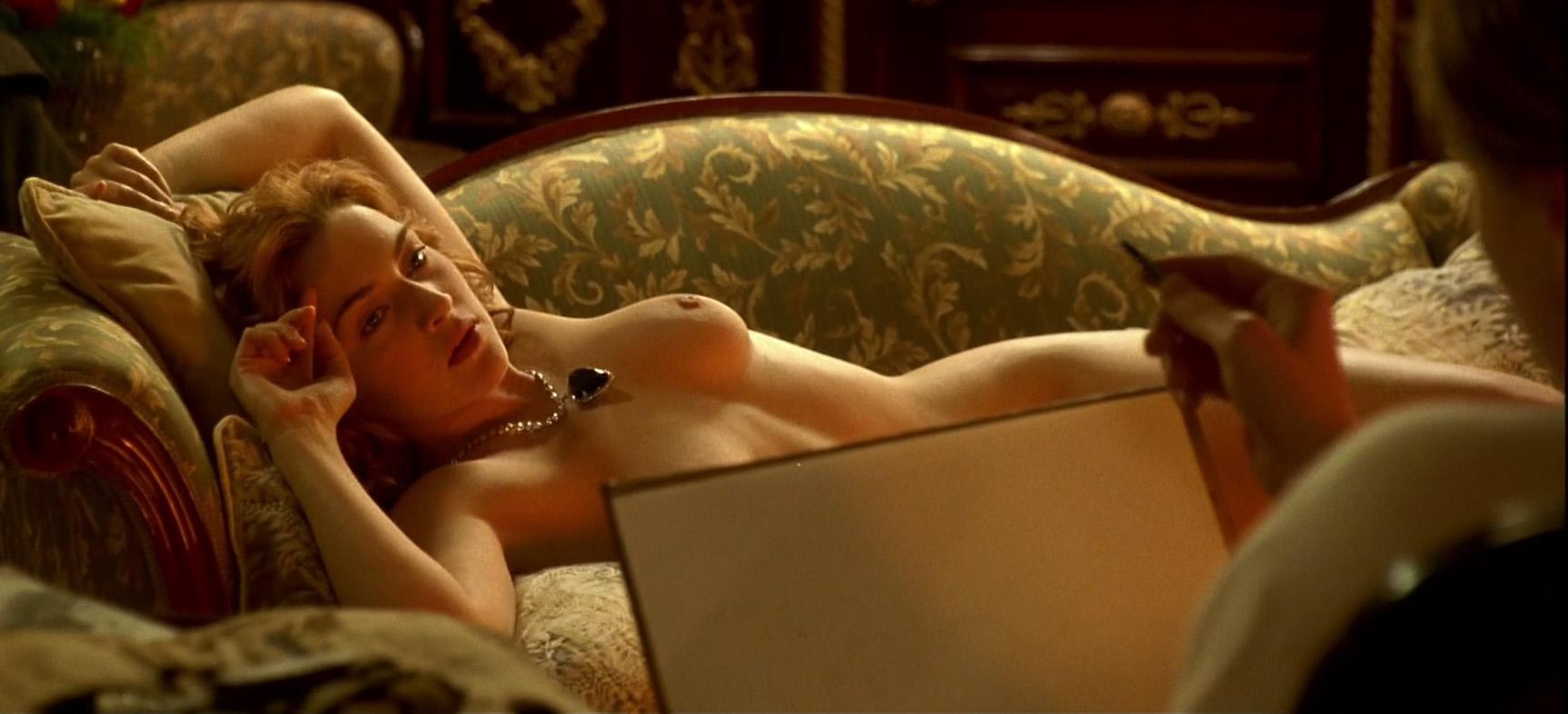 Winslet nude titanic