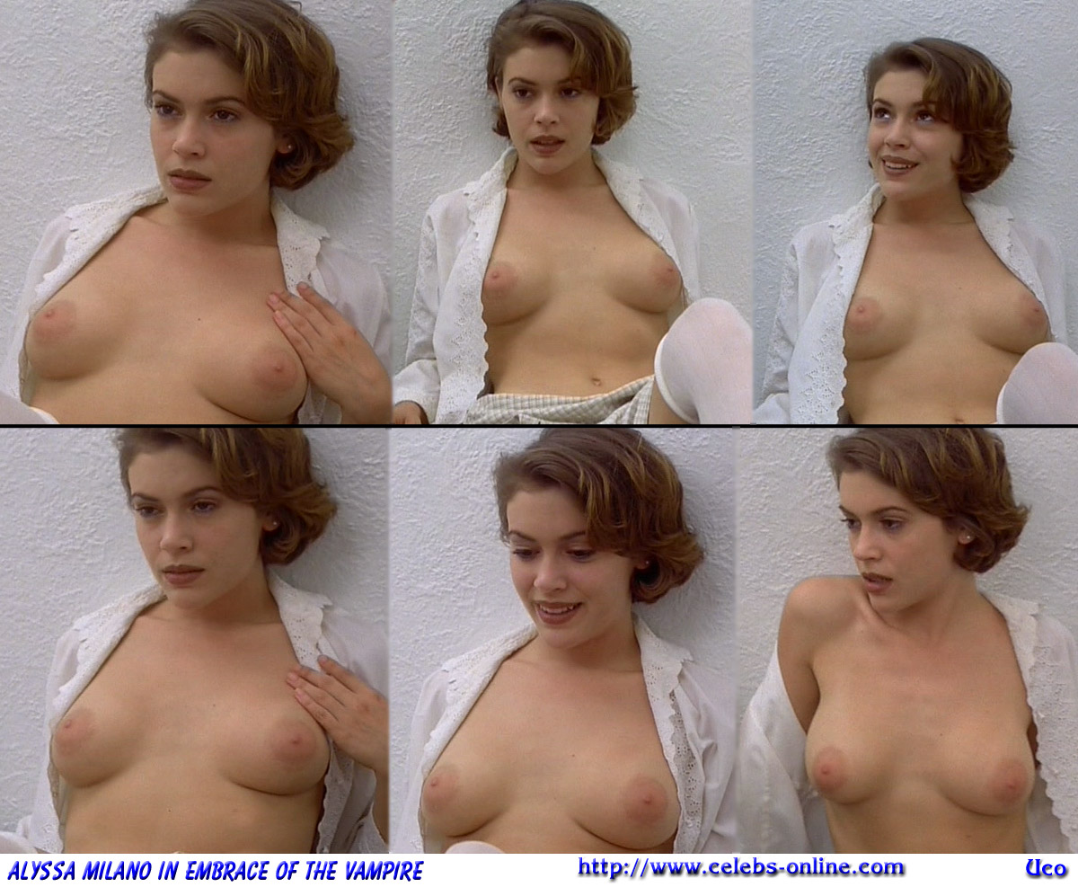 Alyssa milano celebrity naked pics