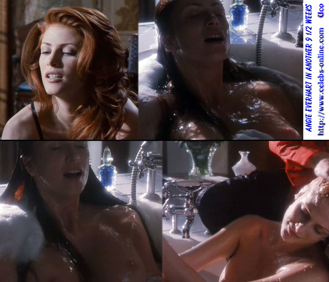 Free Preview Of Angie Everhart Naked In Love In Paris